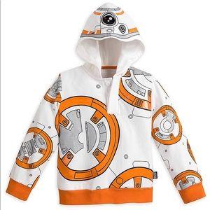 Star Wars BB-8 Hoodie Boys The Force Awakens Sz5/6